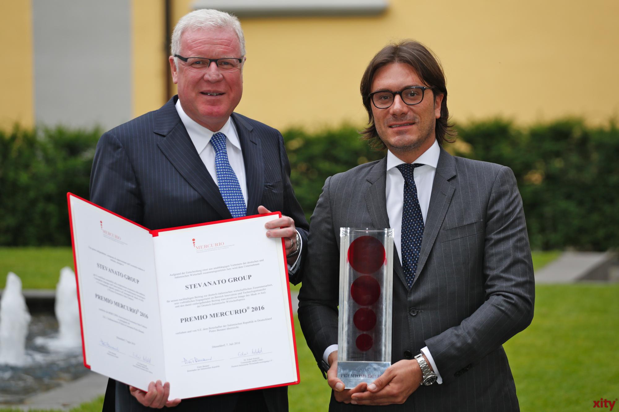 Preisverleihung des Premio Mercurio (Foto: xity)