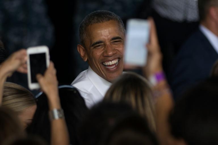 Barack Obama ist für deutsche Männer das größte Vorbild (© 2016 AFP)