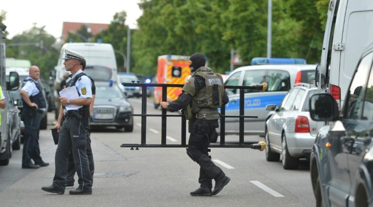Verdächtiger löst Großeinsatz der Polizei in Stuttgart aus (© 2016 AFP)