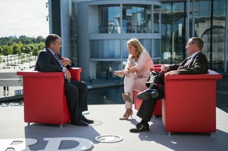 Gabriel: Kanzlerkandidat der SPD steht nicht vor Anfang 2017 fest (© 2016 AFP)