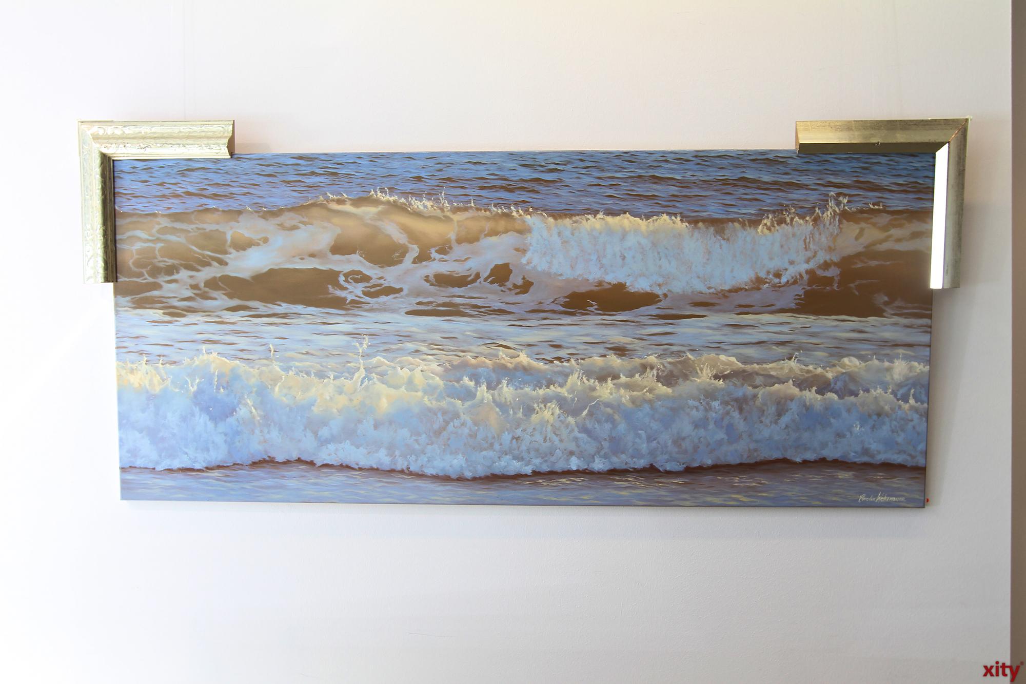 Sie ist eine der weltweit besten und einflussreichsten Malerinnen von Wasser und Meer. (Foto: xity)