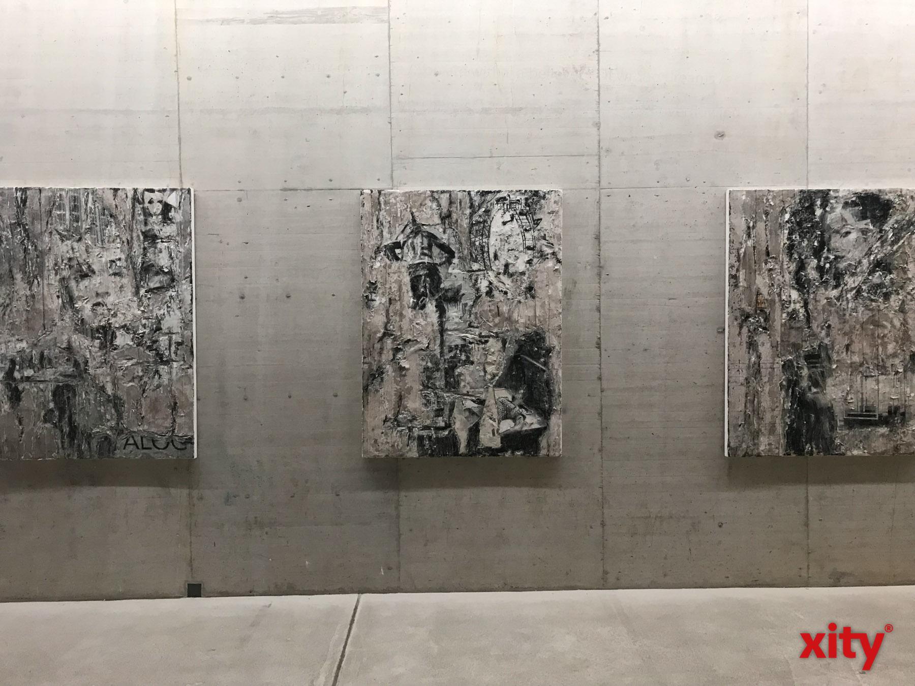 In Schroeders Werken wird der Ursprung und der Verfall von Beton aufgegriffen (Foto: xity)